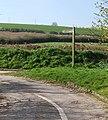 Signpost to Combe Keynes - geograph.org.uk - 1521571.jpg
