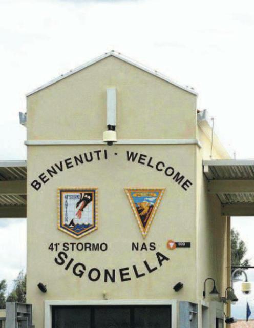 Naval Air Station Sigonella - Howling Pixel