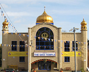 English: Sikh Temple, Chapeltown Road, Leeds, ...