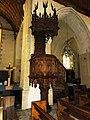 Sillé-le-Guillaume (Sarthe) église, chaire.jpg