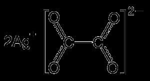 Silver oxalate - Image: Silver oxalate resonance