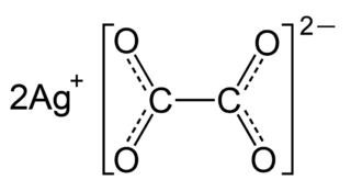 Silver oxalate chemical compound