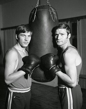 Simion Cuțov - Simion (left) and Calistrat Cuţov