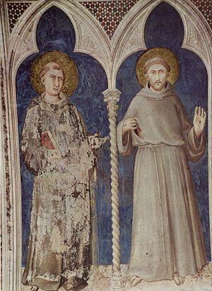 Alfred Boeddeker - Saint Anthony  and Saint Francis.
