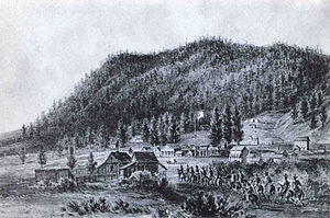 James H. Simpson - Captain Simpson's Utah Expedition arrived at the Mormon settlement of Genoa near Lake Tahoe in 1859