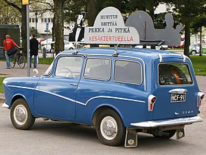 "Glas Isar - A kombi / small station wagon joined the range at the same time as the car was rebranded as the ""Isar"" in 1959."
