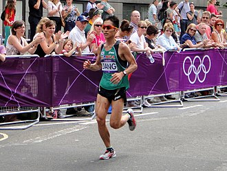 South Korea at the 2012 Summer Olympics - Jang Sin-Kweon in men's marathon