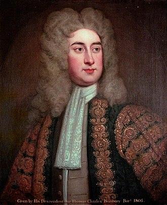 Sir Thomas Hanmer, 4th Baronet - Sir Thomas Hanmer.