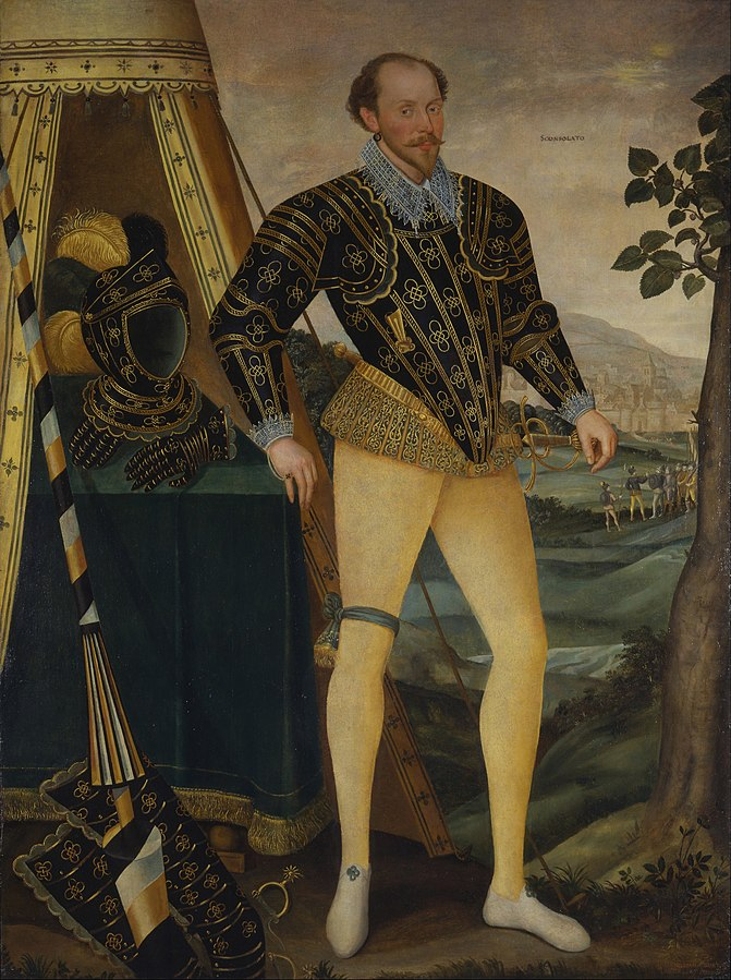 Sir William Drury, of Hawstead, Suffolk (1550–1590)