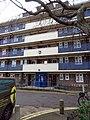 Site of Kate Greenaway's birthplace - Sylvia Court, Cavendish Street, Hackney N1 7PD.jpg