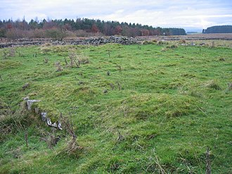 Milecastle 30 - The site of Milecastle 30