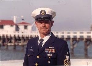 Richard Dixon (USCG) - USCG lifeboat coxswain Richard Dixon