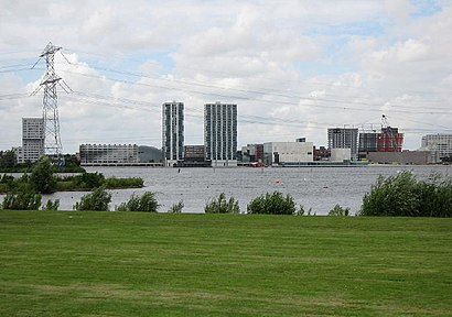 How to get to Almere with public transit - About the place