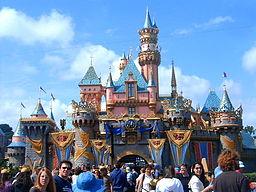Torneroses slot i Disneyland i Anaheim.