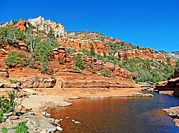 Slide Rock, Oak Creek Canyon, AZ 9-15 (21721214731).jpg