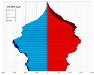 Demographics of Slovakia