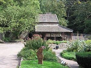 Snuff Mills - Image: Snuff Mills restored mill