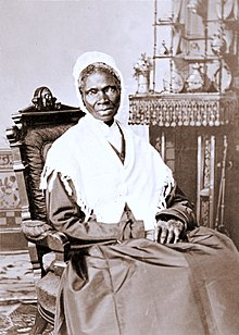 Sojourner Truth (1797-1883) delivered her Ain't I A Woman? speech at the Women's Convention in Akron, Ohio, in December 1851.