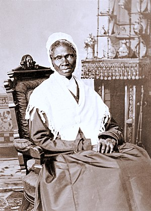 Sojourner Truth - An albumen silver print from approximately 1870 by Randall Studios