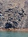 Solidified basaltic lava - Nea Kameni volcanic island - Santorini - Greece - 02.jpg