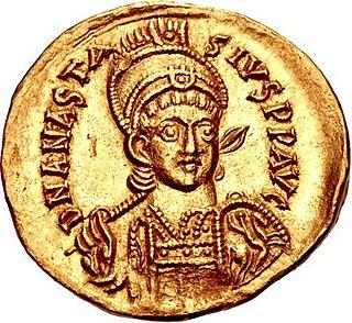 Anastasius I Dicorus Byzantine emperor