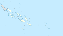 HIR is located in Solomon Islands