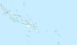 Mount Veve is located in Solomon Islands