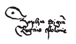 Sophia of Halshany signature as Queen of Poland.png