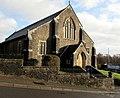 South side of St Gabriels Church, Cwmbran (geograph 6060763).jpg