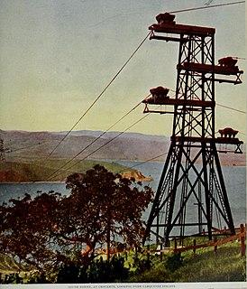Carquinez Strait Powerline Crossing