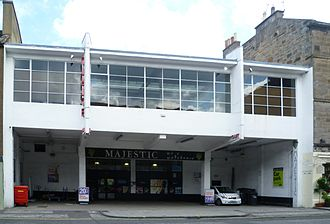 Basil Spence - Southside Garage in the art deco style