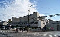 Soviet building of the National Librairy in Tallinn (7974002304).jpg