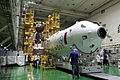 Soyuz TMA-05M spacecraft integration facility 1.jpg