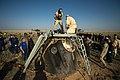 Soyuz TMA-11M capsule shortly after landing.jpg