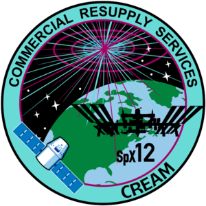 SpaceX CRS-12 - Image: Space X CRS 12 Patch