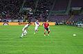 Spain - Chile - 10-09-2013 - Geneva - Gary Medel, Mauricio Isla and Ignacio Monreal.jpg
