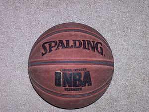 300px Spalding basketball Basketball Equipment