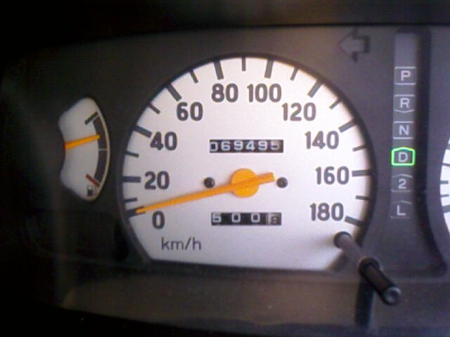 Speed meter mishubishi