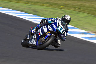 Ben Spies - Spies at the 2011 Australian Grand Prix at Phillip Island; he did not start the race after suffering a concussion and rib tearing after a crash in qualifying.