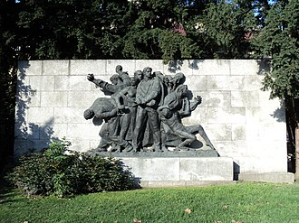 Zagreb in World War II - Monument Shooting of hostages, dedicated to victims of fascism in Zagreb