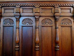 Dado (architecture) - Image: Spring Hall Halifax 029