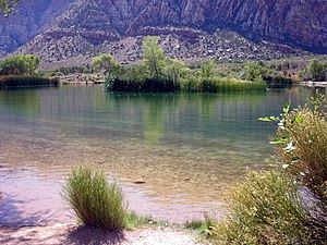 Spring Mountain Ranch State Park - Image: Spring Mountain Ranch Reservoir