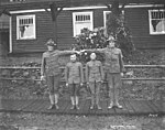 Spruce Division soldiers at camp, ca 1918 (KINSEY 772).jpeg