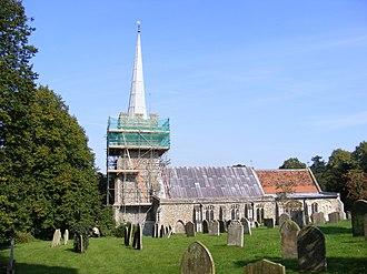 Yoxford - Image: St.Peter's Church Yoxford geograph.org.uk 972479
