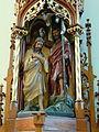 St.Peter am Wimberg Kirche - Taufbecken 2 Taufe im Jordan.jpg