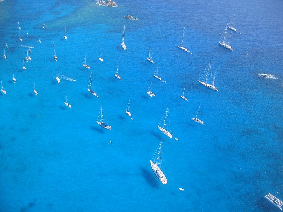 St. Barts yachts