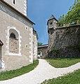 St. Georgen a. L. Burg Hochosterwitz Wehrturm an der Kirche hl. Johann Nepomuk 01062015 4387.jpg