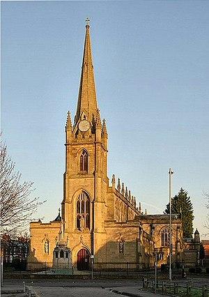 Syro-Malabar Cathedral of St. Alphonsa, Preston - Image: St. Ignatius geograph.org.uk 1533737