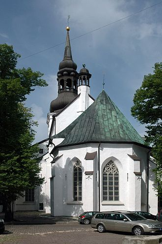 St Mary's Cathedral, Tallinn - Exterior