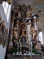 St. Michael Stockheim - Langhaus nördlicher Seitenaltar.JPG